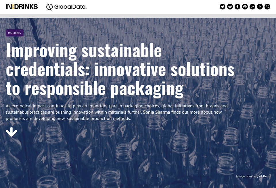 Improving on brands' sustainable credentials: innovative